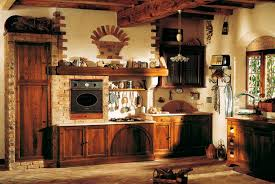 Rustic Kitchen Shelving Ideas by Farmhouse Rustic Kitchen Design Ideas Features Exposed Bricks