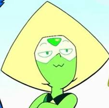 Smug Meme Face - peridot s smug face steven universe know your meme