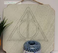 harry potter string art the puzzling crafter
