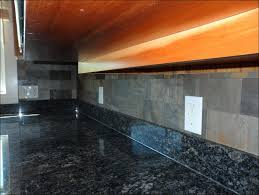 Home Depot Kitchen Backsplash by Kitchen Backsplash With Quartz Countertop Black Slate Backsplash