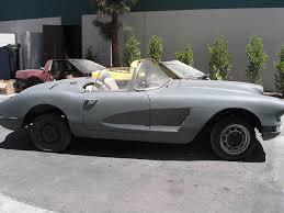 corvette project cars 1960 corvette project car for resto mod or daily driver or