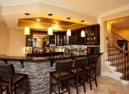 Pictures Of Wet Bars In Basements Cost To Finish Basement How Much Does It Cost To Finish A Basement