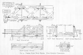 free model railroad bridge drawings plans and details of a