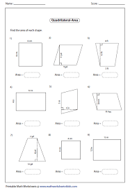 area of a rhombus worksheet free worksheets library download and
