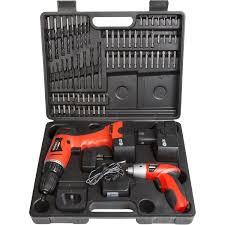best deals on ebay cordless drills black friday black u0026 decker 20 volt lithium drill and 133 pieces home project