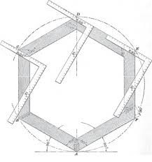 hexagon house plans roof framing geometry roof framing polygon angles
