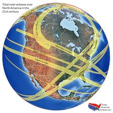 Where Is Mexico On The Map by Future Eclipses U2014 Total Solar Eclipse Of Aug 21 2017