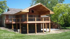 Wrap Around Deck Designs by Deck Remodeling Southwestern Remodeling Wichita Ks