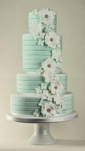 Wedding Cake Green 24 Gentle Mint Green Colored Wedding Cakes Weddingomania Weddbook