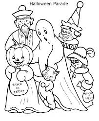 scary halloween coloring scary halloween coloring