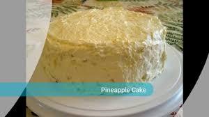 easy pineapple cake youtube