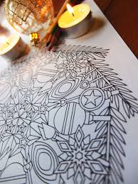 ornaments christmas mandala candyhippie coloring pages