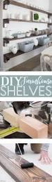 Wood Plank Shelves by Best 25 Diy Shelving Ideas On Pinterest Shelves Shelving Ideas