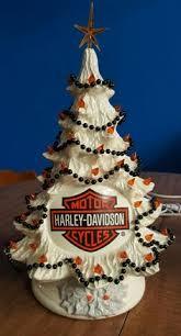 vintage ceramic tree with nativity