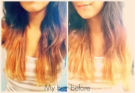 brown hair kool aid dye hair and model