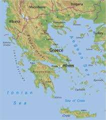 Geographical Map Maps Of Greece Bizbilla Com