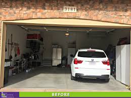 garage sos smart organizing solutions garage design before