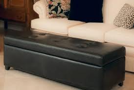 bench terrific storage ottoman bench black striking black fabric