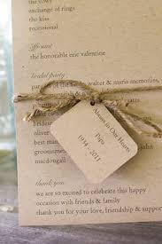 cost of wedding programs 5 low cost wedding details to pull your wedding together fizara