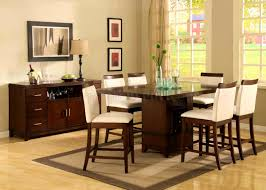 Diy Counter Height Table Furniture Pretty Square Counter Height Dining Room Table Set