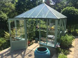 Greenhouse Gazebo Green House Glass House And Fruit Cage Construction