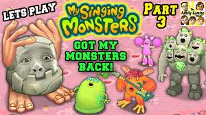 My Singing Monster Lets Play My Singing Monsters Part 3 Mike Lost His Stuff Fgteev