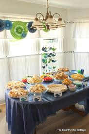 country baby shower ideas nautical themed baby shower the country chic cottage