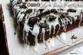 oreo upside down sheet cake recipe u2014 epicuricloud