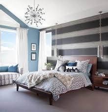 peinture chambre bleu chambre bleu et gris idées déco en tons neutres et froids