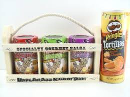 Margarita Gift Set Buy Kickin U0026 39 Specialty Gourmet Salsa And Wooden Crate Gift