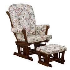 Espresso Rocking Chair Nursery Baby Glider Wood Rocker Ottoman Chocolate Espresso Rocking Chair
