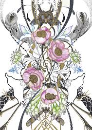 handdrawn compositions by joshua loke at coroflot com