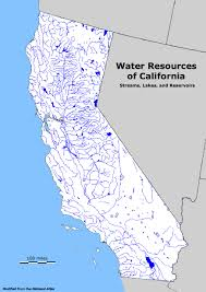 State Map Of California by Geology Cafe Com