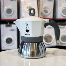 espresso maker bialetti bialetti moka induction white 3 or 6 cup coffea coffee