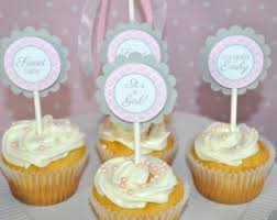 baby shower cupcakes for girl elephant baby shower cupcake toppers elephant baby