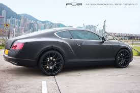 bentley suv matte black bentley continental gt 2471666