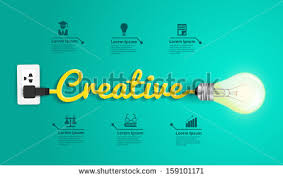 Conceptmodern Thinking Concept Modern Design Template Creative Stock Vector