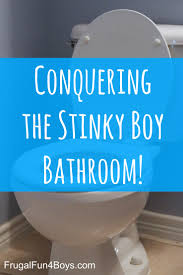 boy bathroom ideas getting rid of boy bathroom stink