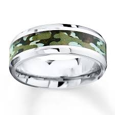 camouflage wedding rings camouflage wedding band stainless steel 8mm
