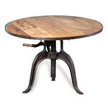 adjustable height side table adjustable height coffee table with handle coffee tables