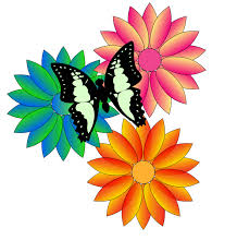 butterfly flower clipart clipart panda free clipart images