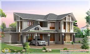 double story house plan kerala home design floor plans home double storey house indian plans