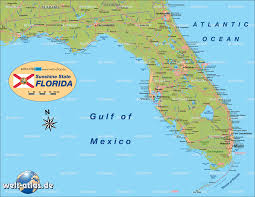 Hollywood Usa Map by Map Of Florida United States Usa Map In The Atlas Of The