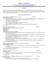 resume job summary examples cover letter quality assurance manager resume sample quality cover letter qa qc manager resume safety job description examples sample pharmaceutical quality control analyst samplequality