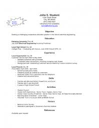 create your own resume template make your own resume students sle how to template on