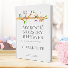 Personalised Keepsake Story Book For Children By My Personalised Children S Book My Book Of Nursery Rhymes
