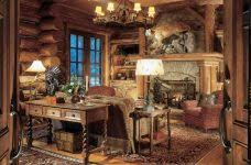 Rustic Office Decor Ideas Rustic Office Desk Furniture Crafts Home