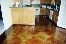 Kitchen Floor Options by Concrete Floors In Kitchen Zamp Co
