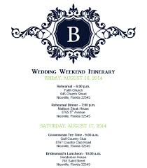 wedding itinerary template wedding itinerary wedding itinerary template bridetodo