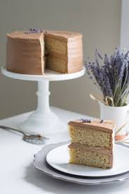 earl grey cake chocolate lavender frosting